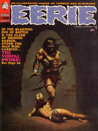 Cover for Eerie (Warren, 1966 series) #29
