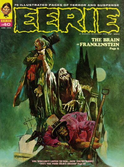 Cover for Eerie (Warren, 1966 series) #40