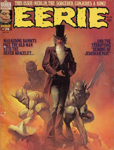 Cover for Eerie (Warren, 1966 series) #74