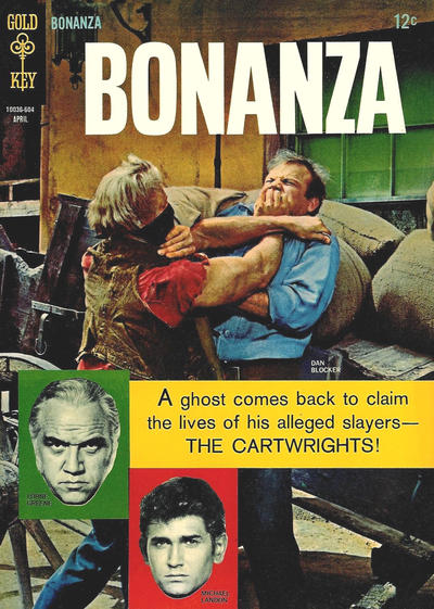 Cover for Bonanza (Western, 1962 series) #19