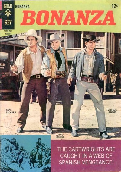 Cover for Bonanza (Western, 1962 series) #25