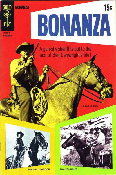 Cover for Bonanza (Western, 1962 series) #34