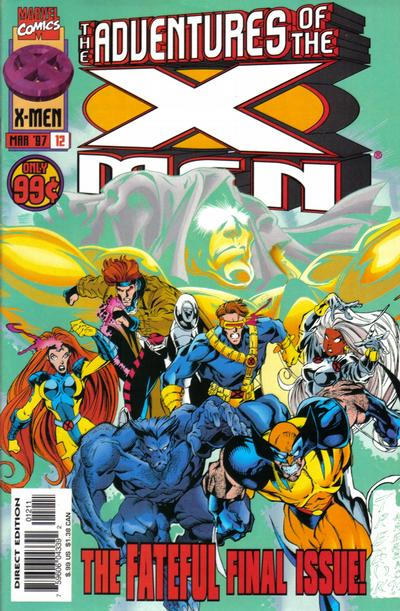 Cover for The Adventures of the X-Men (Marvel, 1996 series) #12