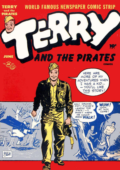 Cover for Terry and the Pirates Comics (Harvey, 1947 series) #4