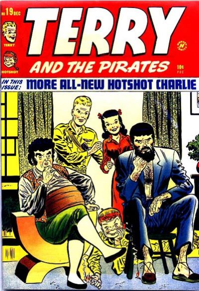 Cover for Terry and the Pirates Comics (Harvey, 1947 series) #19
