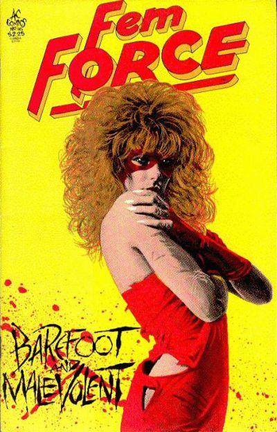 Cover for FemForce (AC, 1985 series) #16