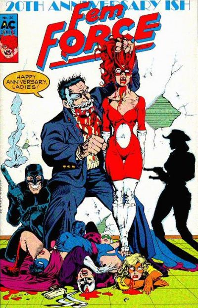 Cover for FemForce (AC, 1985 series) #20