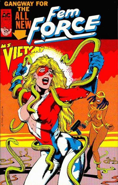 Cover for FemForce (AC, 1985 series) #25