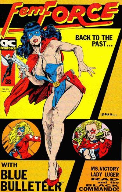 Cover for FemForce (AC, 1985 series) #38
