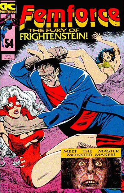 Cover for FemForce (AC, 1985 series) #54