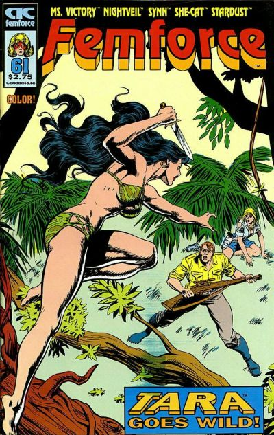 Cover for FemForce (AC, 1985 series) #61