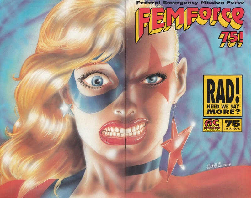 Cover for FemForce (AC, 1985 series) #75