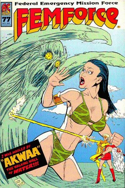 Cover for FemForce (AC, 1985 series) #77