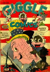 Cover for Giggle Comics (American Comics Group, 1943 series) #32