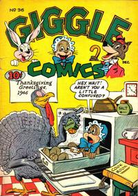 Cover Thumbnail for Giggle Comics (American Comics Group, 1943 series) #36
