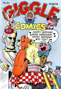 Cover Thumbnail for Giggle Comics (American Comics Group, 1943 series) #51