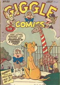 Cover Thumbnail for Giggle Comics (American Comics Group, 1943 series) #55