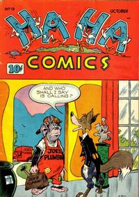 Cover Thumbnail for Ha Ha Comics (American Comics Group, 1943 series) #13