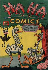 Cover Thumbnail for Ha Ha Comics (American Comics Group, 1943 series) #21