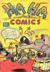 Cover Thumbnail for Ha Ha Comics (American Comics Group, 1943 series) #24