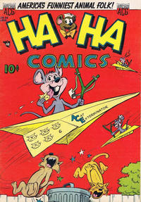 Cover Thumbnail for Ha Ha Comics (American Comics Group, 1943 series) #94