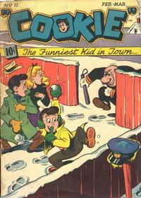 Cover Thumbnail for Cookie (American Comics Group, 1946 series) #11