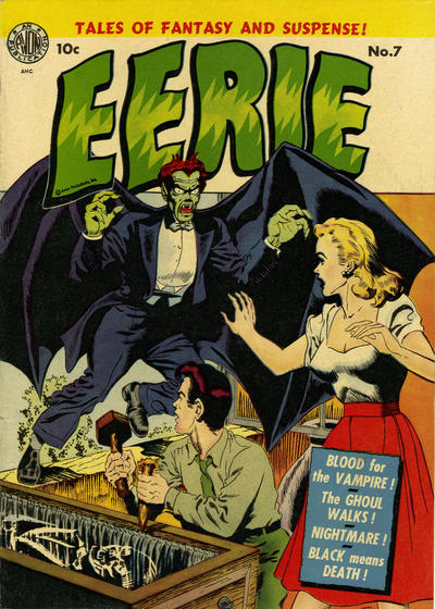 Cover for Eerie (1951 series) #7