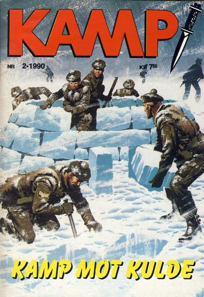 Cover for Kamp-serien (1964 series) #2/1990