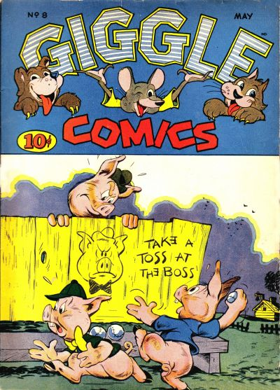 Cover for Giggle Comics (American Comics Group, 1943 series) #8