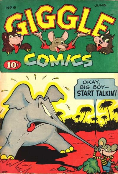 Cover for Giggle Comics (American Comics Group, 1943 series) #9