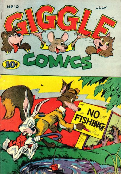 Cover for Giggle Comics (American Comics Group, 1943 series) #10