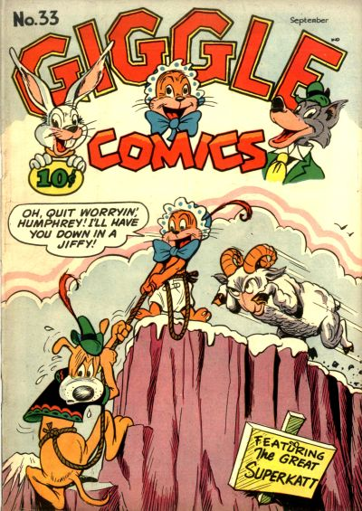 Cover for Giggle Comics (American Comics Group, 1943 series) #33