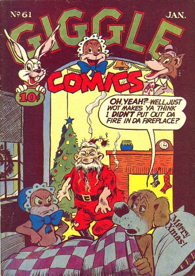 Cover for Giggle Comics (American Comics Group, 1943 series) #61