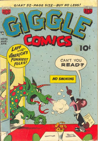 Cover for Giggle Comics (American Comics Group, 1943 series) #76