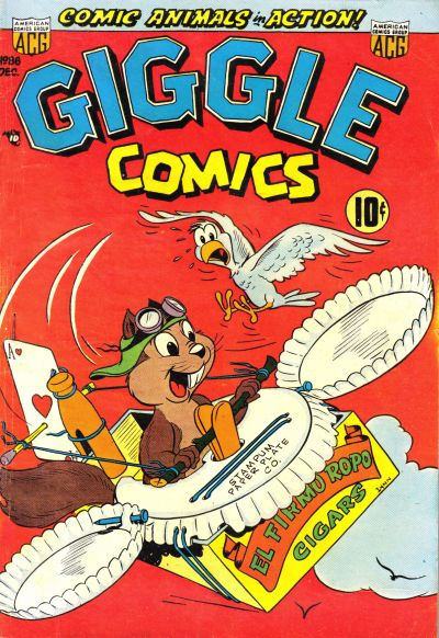 Cover for Giggle Comics (American Comics Group, 1943 series) #86