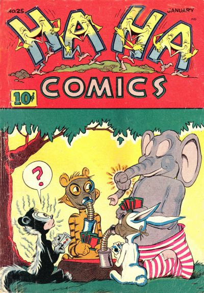 Cover for Ha Ha Comics (American Comics Group, 1943 series) #25