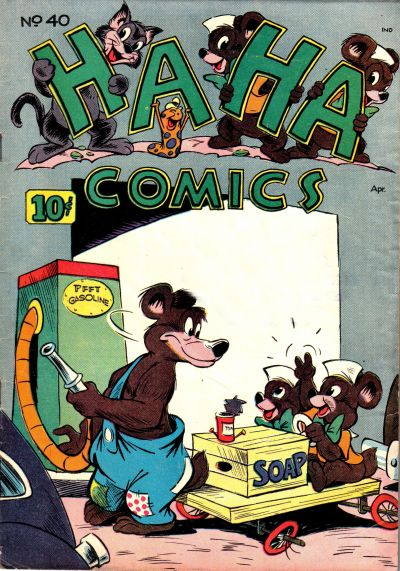 Cover for Ha Ha Comics (American Comics Group, 1943 series) #40