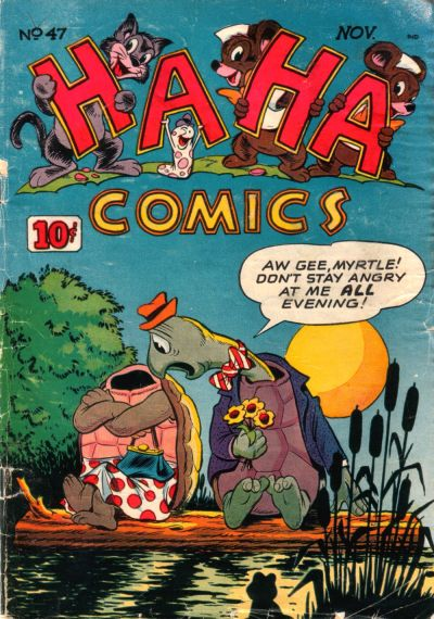 Cover for Ha Ha Comics (American Comics Group, 1943 series) #47