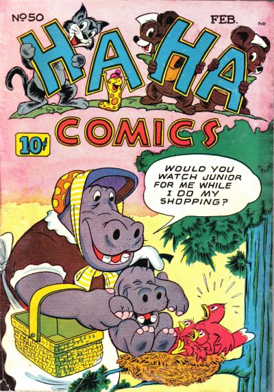 Cover for Ha Ha Comics (American Comics Group, 1943 series) #50