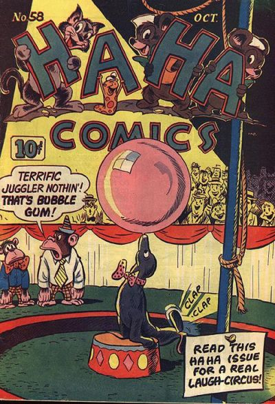 Cover for Ha Ha Comics (American Comics Group, 1943 series) #58