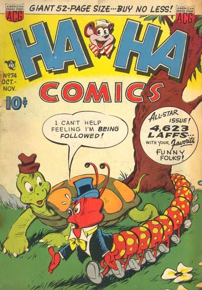 Cover for Ha Ha Comics (American Comics Group, 1943 series) #74