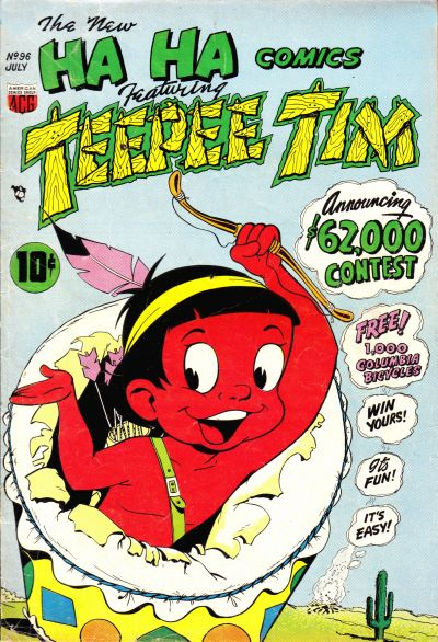 Cover for Ha Ha Comics (American Comics Group, 1943 series) #96