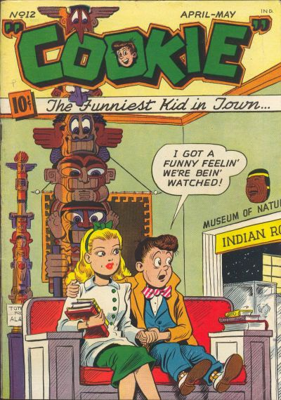 Cover for Cookie (American Comics Group, 1946 series) #12