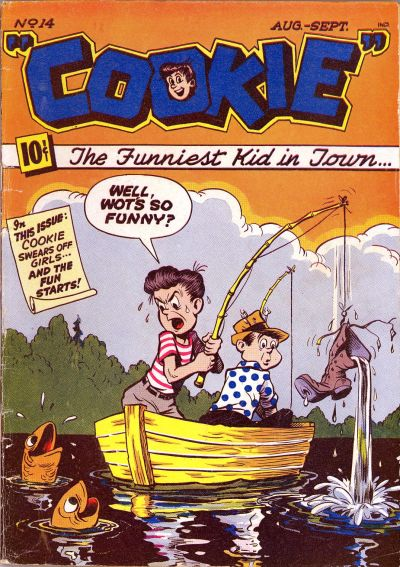 Cover for Cookie (American Comics Group, 1946 series) #14