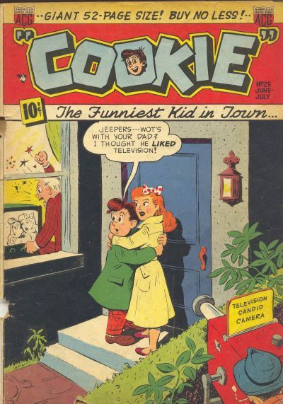 Cover for Cookie (American Comics Group, 1946 series) #25
