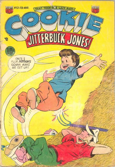 Cover for Cookie (American Comics Group, 1946 series) #53
