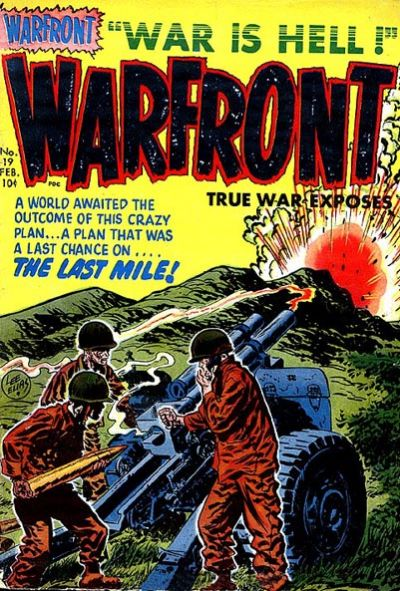 Cover for Warfront (1951 series) #19