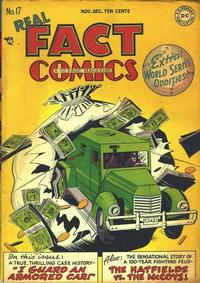 Cover Thumbnail for Real Fact Comics (DC, 1946 series) #17