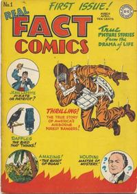 Cover Thumbnail for Real Fact Comics (DC, 1946 series) #1