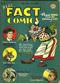 Cover Thumbnail for Real Fact Comics (DC, 1946 series) #2